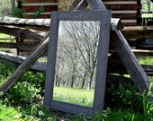 Reclaimed Wood Mirror - Mirror Framed - Barnwood Mirror - Wall Mirror - Antique Mirror - Unique Mirror - Wall Decor - Hanging Mirror - Wood