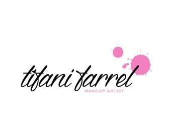 Custom logo / Premade logo design / Modern logo / Makeup artist logo / Colorful logo / Signature logo
