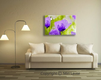 Flower Wall Decor, Canvas Wall Art, Large Art Print, Nature Wall Art, Large Wall Decor, Floral Wall Art, Large Canvas Art, Nature Wall Decor