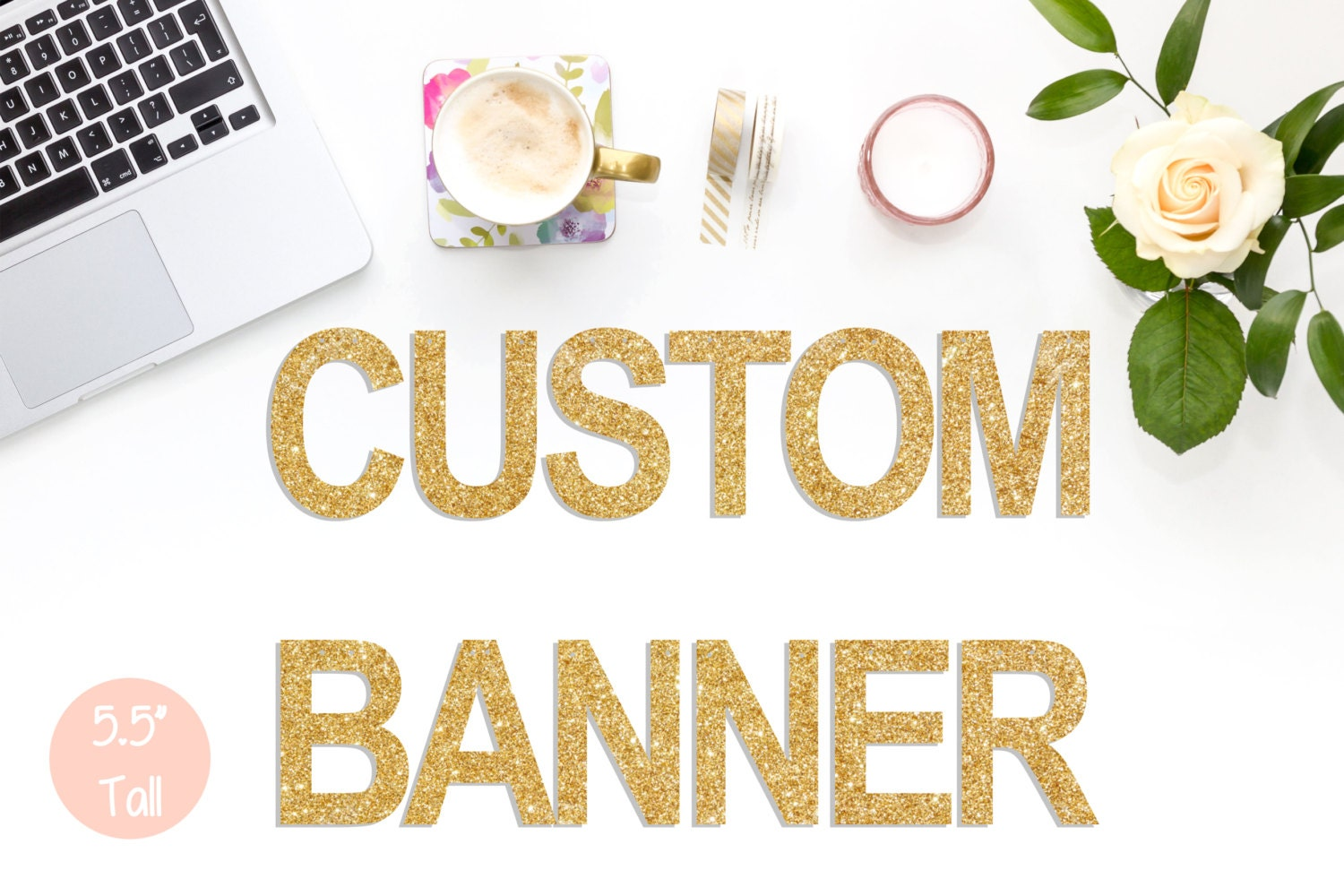 custom banner large personalised banner 5 5 tall party banner name