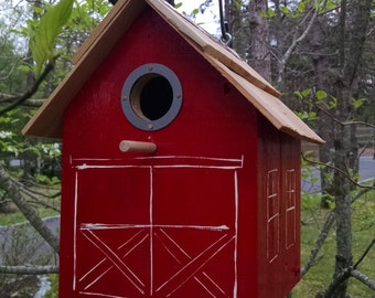 Bird houses Barn Cottage