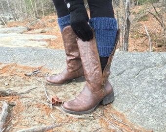 Boot Cuffs Hand Knit in New Hampshire THE PELHAM