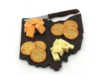 Ohio Slate Cheese Board, Serving Tray, or Cutting Board