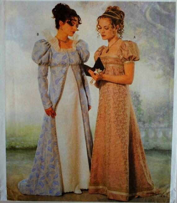 Renaissance Wedding Dress Costume History Mccall S By Heychica: Uncut Misses Renaissance Maiden Coat & Dress By
