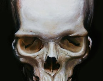 The Skull Painting