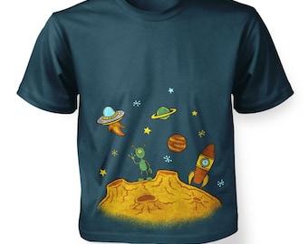 Alien Planet kids t-shirt