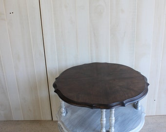 French Provincial TABLE ROUND TIERED