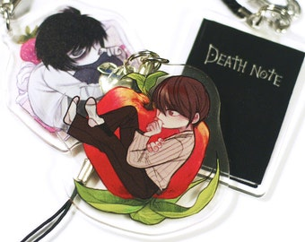"2"" Reversible Acrylic Charm: Death Note"