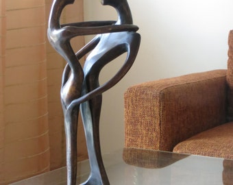 THE lovers: Bronze Sculpture. Original creation