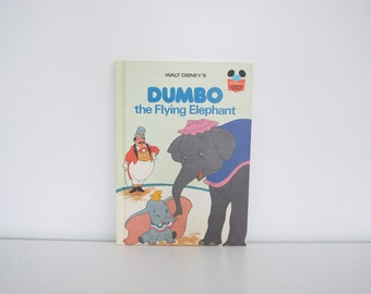 Vintage Disney book Dumbo the Flying Elephant FIRST EDITION