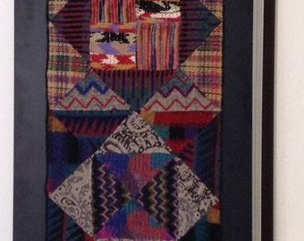 Missoni vintage patchwork arazzo tapestry