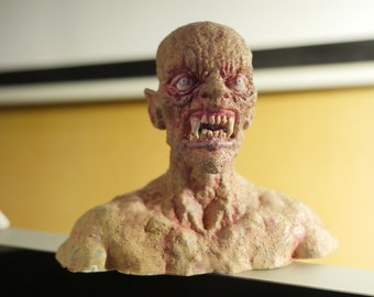 Keith - zombie vampire realistic 3d-printed sculpture detailed paint work