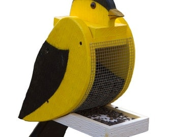 Amish Made Goldfinch Bird Feeder