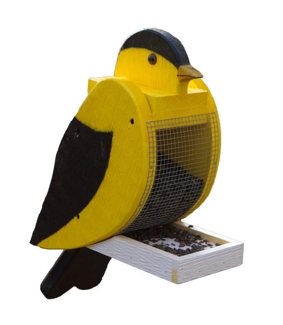 Amish Made Goldfinch Bird Feeder
