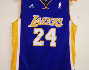 Clearence Sale Vintage 90s Authentic LA Lakers Kobe Bryant #24 Basketball NBA Jersey.