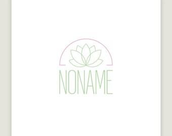 Logo design and business cards, premade logo design,  lotus card design, green logo design, flower logo design, custom business cards