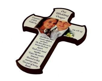 Personalised wooden Keepsake Cross
