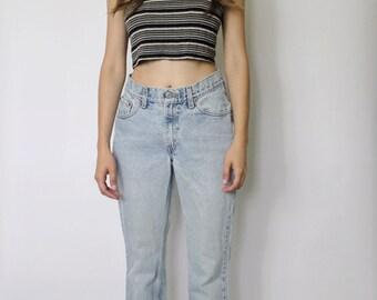 Vintage Levi's 517 Denim Jeans 26 | Levis 517 Denim Jeans | Levis Light Blue Denim Jeans | Flare Jeans