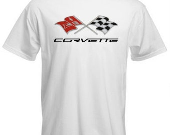Corvette graphic printed t shirt mens size S M L XL XXL 3XL T-146