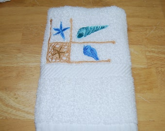Seashell Hand Towel 1