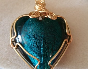 1 beautiful  murano charm