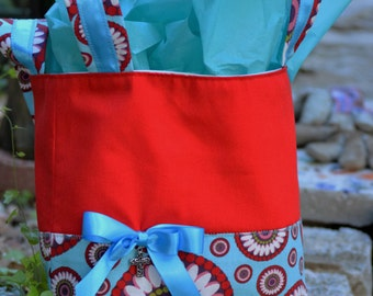 Red & Blue Gift Bag