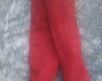 Italian red suede OTK Boot