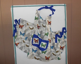 Plus-Size Butterfly-Apron Size XXL plus