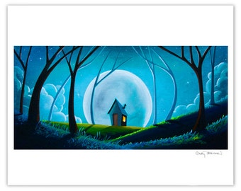 Nature and Whimsy Series Limited Edition - Sleepy Hollow - Signed 8x10 Semi Gloss Print (10/20)