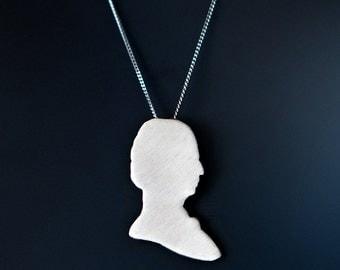 Grace Hopper Programmer Necklace, Tech Geek Gift Idea, Feminist Jewelry, Programmer Gift Idea for Her