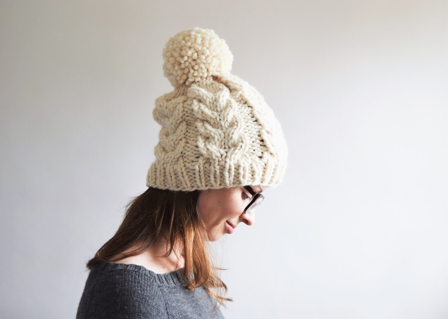 Cable knit hat pattern bankloansurffo Gallery