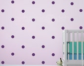 Wall decals SMALL POLKA DOTS Modern interior decor - Simples shapes by Graphics Mesh