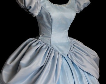 Cinderella All Blue Custom Costume