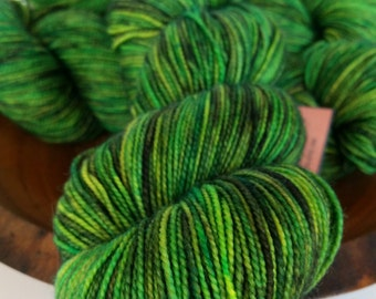 Fingering, Wicked Witch - 80/20 First-String PLUS SW Merino Yarn,