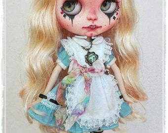 GOTHIC ALICE  Blythe custom doll by Antique Shop Dolls