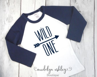Boys Birthday Shirt, First Birthday Shirt, 1st Birthday Shirt, Wild One Shirt, Boys First Birthday Shirt-Birthday Boy Shirt