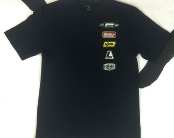 90s Racing Logo Short Sleeve Men's Shirt / Vaporwave / Athletic / Health Goth / Logos / Cyber Punk / Raver / Club Kid / Future / Sporty