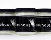 Goth Candle - Dark Entries - Cedar - Scented Candle - Bauhaus
