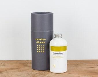 Bath Soak. Sweet Orange and Frangipani. Organic. Vegan. 250ml. Bath and Beauty. Gift for Her. Spa Gift. Natural Bath Soak. Gift for Women.