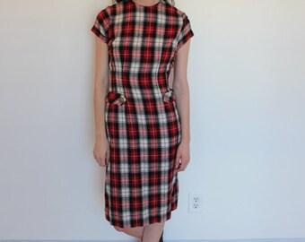 1960s Vintage Headmistress Ritual Wiggle Dress