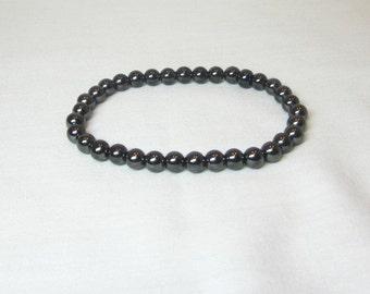 Hemalyke Men's Bracelet Stretch Bracelet Earthtone Unisex Magnetic