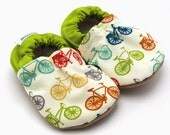 baby bicycle shoes bicycle clothing baby booties organic baby shoes baby booties baby boy shoes baby girl shoes soft sole shoes vegan baby