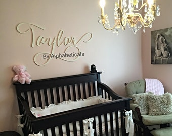 Nursery Name Letters for Wall Wooden Letters for Nursery Wall Decor Baby Name Sign Wall Hanging Wooden Signs Wall Letters Big Alphabeticals