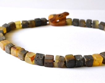 Natural Baltic Amber Necklace Statement Necklace Genuine Amber Jewelry