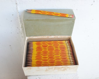 Sauer's Advertising/Promotional/Country Store/School House Hardwood Pencils (Original Box of 90)