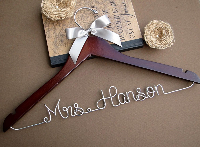 SALE Personalized Bridal Hanger / Wedding Hanger / Custom