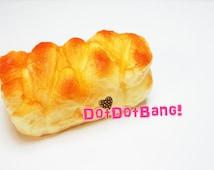 Jumbo Squishy Twisted Bread, 11cm, Loaf, Cute Kawaii Bun Squishies, Wristpad, Bakery, Rolls, Food Model, Supplies, Toy, Gifts, MHB60