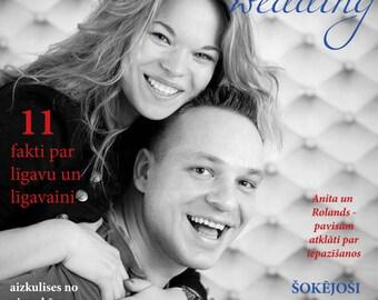 Personalised Wedding Magazine.
