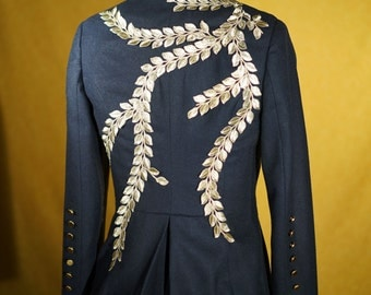 Gorgeous Appliqued and Embroidered Suits