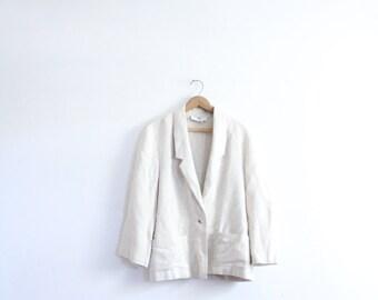 Minimal Luxe Slouchy Blazer